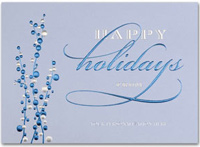 Serene Berry Holidays (25 cards & envelopes) - Boxed Holiday Cards