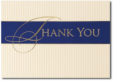 Sincere Thanks (25 cards & envelopes) - Boxed Thank You Cards