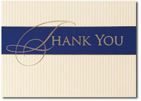 Sincere Thanks (25 cards & envelopes) Personalized Business Boxed Thank You Cards