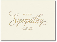 Kindness and Compassion (25 cards & envelopes) Personalized Business Boxed Sympathy Cards