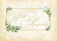 Elegant Lilies (25 cards & envelopes) - Boxed Sympathy Cards