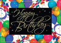 Birthday Celebration (25 cards & envelopes) - Boxed Birthday Cards