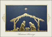 Holy Night (25 cards & envelopes) - Boxed Christmas Cards