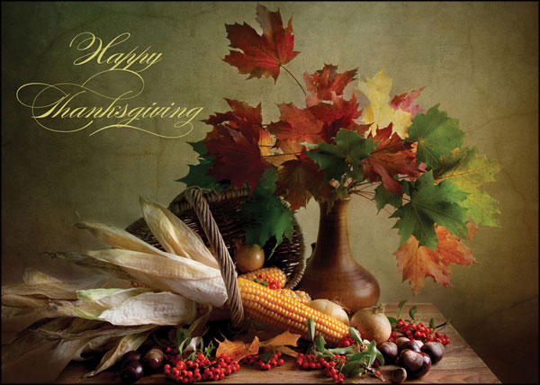thanksgiving cards for business buy online papercards com