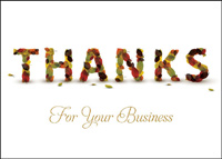 Business Thanksgiving (25 cards & envelopes) - Boxed Thanksgiving Cards