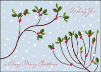 A Berry Merry Christmas (25 cards & envelopes) - Boxed Christmas Cards