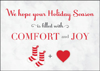 Comfort and Joy (25 cards & envelopes) - Boxed Holiday Cards