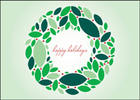 Wreath of Wishes (25 cards & envelopes) - Boxed Holiday Cards