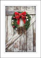Rustic Greetings (25 cards & envelopes) - Boxed Holiday Cards