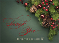 Business Thank You (25 cards & envelopes) - Boxed Holiday Cards