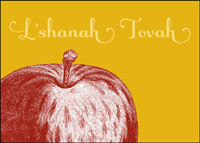 Apples & Honey (25 cards & envelopes) - Boxed Jewish New Year Cards