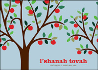 Harvesting a Good New Year (25 cards & envelopes) - Boxed Jewish New Year Cards