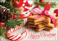 Christmas Cookies (25 cards & envelopes) - Boxed Christmas Cards