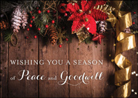 Peace and Goodwill (25 cards & envelopes) - Boxed Holiday Cards