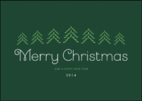 Merry Christmas Wishes (25 cards & envelopes) - Boxed Christmas Cards