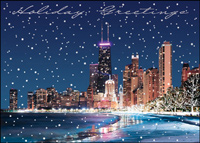 Chicago Lake Front (25 cards & envelopes) - Boxed Holiday Cards