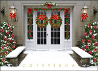 Welcoming Greeting (25 cards & envelopes) - Boxed Holiday Cards