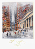 American Artist - Wall Street (25 cards & envelopes) - Boxed Christmas Cards