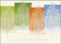 Greetings of the Four Seasons (25 cards & envelopes) - Boxed Holiday Cards
