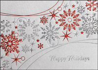 Snowflakes Galore (25 cards & envelopes) - Boxed Holiday Cards