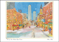 View of New World Trade Center (25 cards & envelopes) - Boxed Holiday Cards