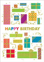 Happy Glitter Birthday (25 cards & envelopes) - Boxed Birthday Cards