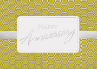 Geometric Anniversary (25 cards & envelopes) - Boxed Anniversary Cards