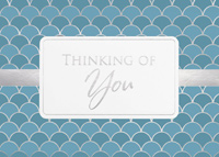 Thinking of You (25 cards & envelopes) Custom Imprint Boxed Sympathy Cards