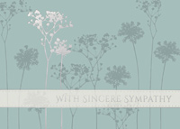 Sympathy Flowers (25 cards & envelopes) - Boxed Sympathy Cards