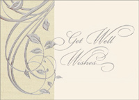 Get Well Wishes (25 cards & envelopes) - Boxed Get Well Cards