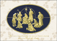 Adoration (25 cards & envelopes) - Boxed Christmas Cards