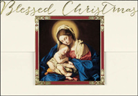 Blessed Christmas (25 cards & envelopes) - Boxed Christmas Cards