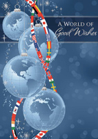 Worldly Good Wishes (25 cards & envelopes) - Boxed Holiday Cards