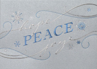 Hope, Peace, Joy (25 cards & envelopes) - Boxed Christmas Cards