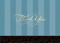 Scripted Thanks (25 cards & envelopes) Custom Imprint Boxed Thank You Cards
