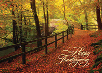 Autumn Trail (25 cards & envelopes) - Boxed Thanksgiving Cards