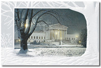 Justice for All (25 cards & envelopes) Personalized Recycled Lawyer Business Boxed Holiday Cards