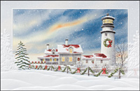 Highland Light House (25 cards & envelopes) - Boxed Christmas Cards