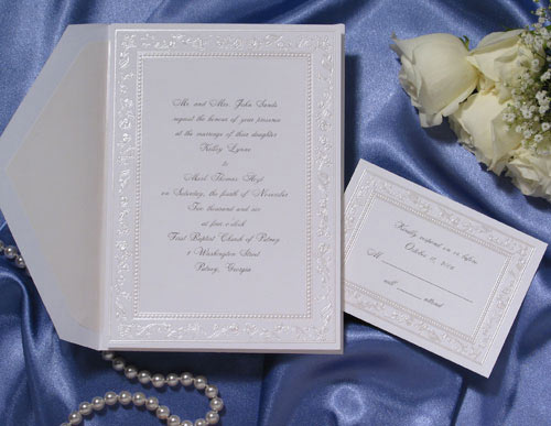 Ever After Personalized Wedding Invitations 100 Invitations By
