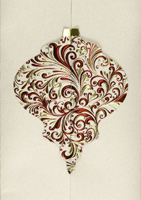 Gatefold Ornament (25 cards & envelopes) - Boxed Christmas Cards