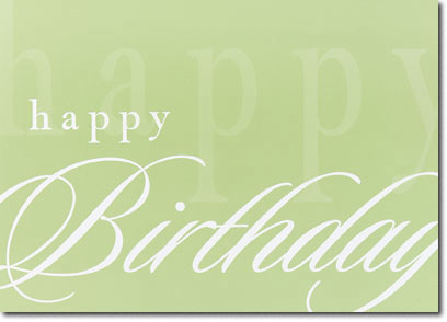 simply happy birthday  cards  envelopes personalized business, Birthday card