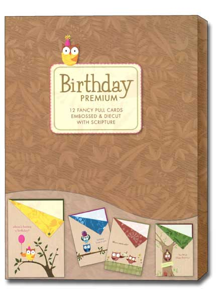 Whoos having a birthday box of 12 assorted owl christian birthday whoos having a birthday box of 12 assorted owl christian birthday cards bookmarktalkfo Gallery
