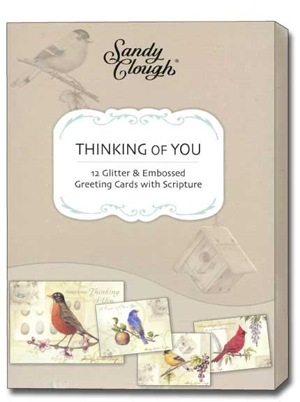 Song Birds (12 Thinking of You Cards with envelopes) - Boxed Scriptured Thinking of You Cards - FRONT: Various  INSIDE: Various