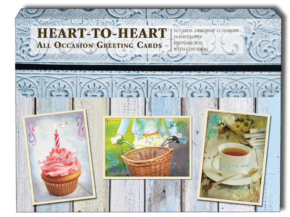 All occasion heart to heart box of 24 assorted christian all all occasion heart to heart box of 24 assorted christian all occasion cards by christian inspirations m4hsunfo