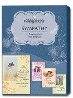 Tenderness (12 Christian Sympathy Cards with envelopes) Assorted Boxed Christian Sympathy Cards