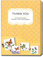 Petite Greetings Box of 12 Christian Thank You Cards
