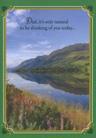 Mountain and Stream (1 card/1 envelope) Designer Greetings St. Patrick's Day Card