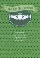 Claddagh Symbol: Husband (1 card/1 envelope) Designer Greetings St. Patrick's Day Card