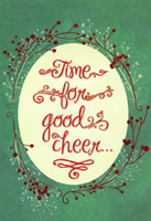 Time For Good Cheer Party Invitations (8 cards/8 envelopes) Designer Greetings Packaged Christmas Cards