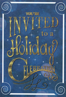 A Holiday Celebration Party Invitations (8 cards/8 envelopes) Designer Greetings Packaged Christmas Cards
